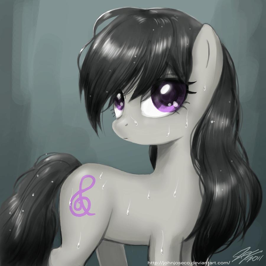 Wet Hair Octavia