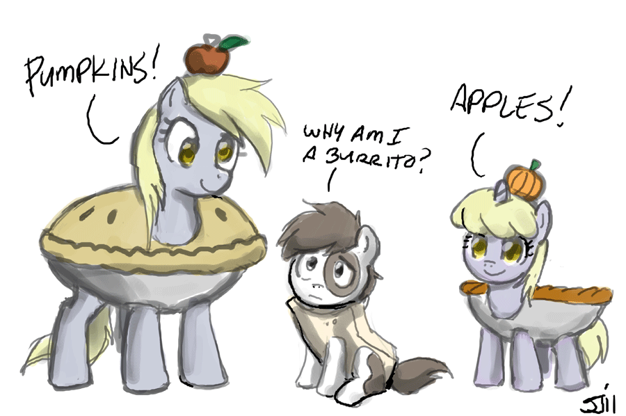 Pumpkins, Apples, and Burritos by johnjoseco