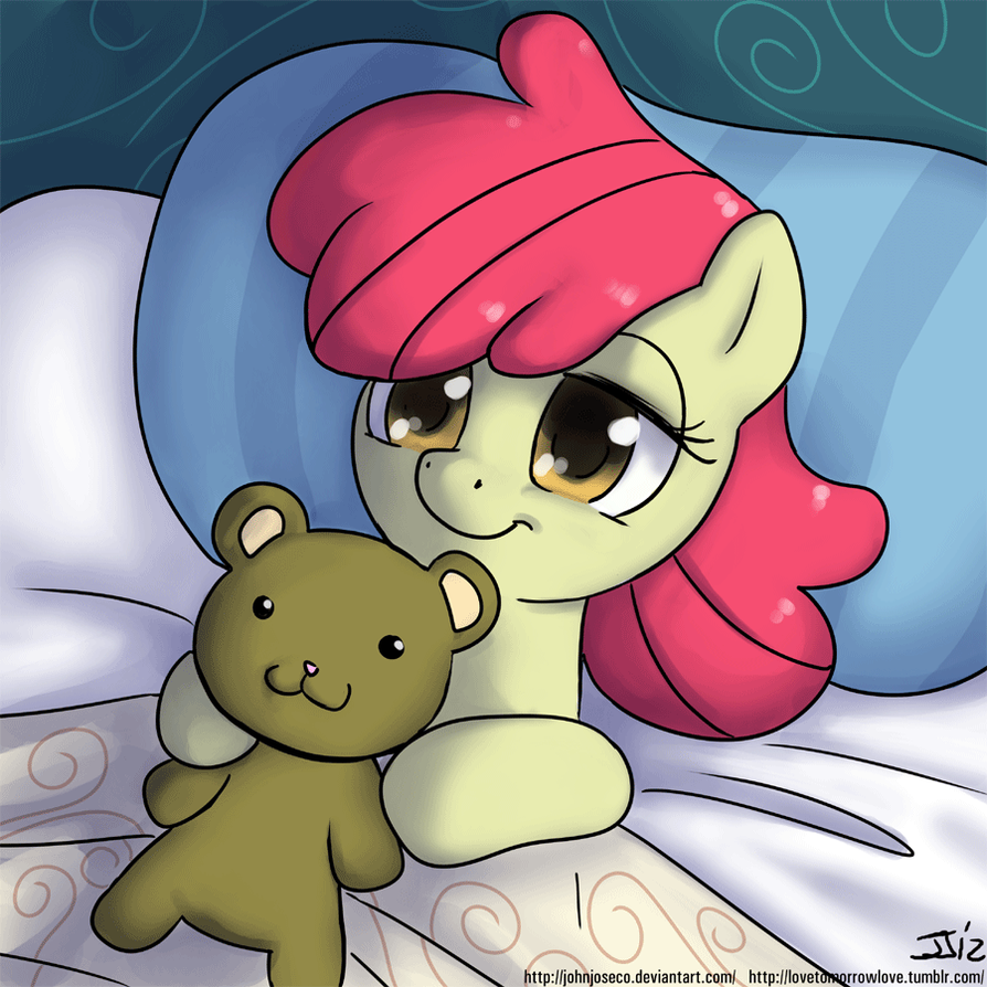 Good Morning Applebloom by johnjoseco