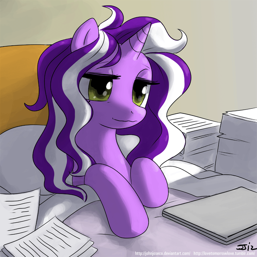 Good Morning Purple Tinker by johnjoseco