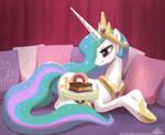 Princess Celestia and Her Cake
