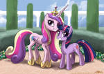 Twilight and Princess Cadance