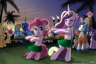 Summer Time Pony Fun 04 by johnjoseco
