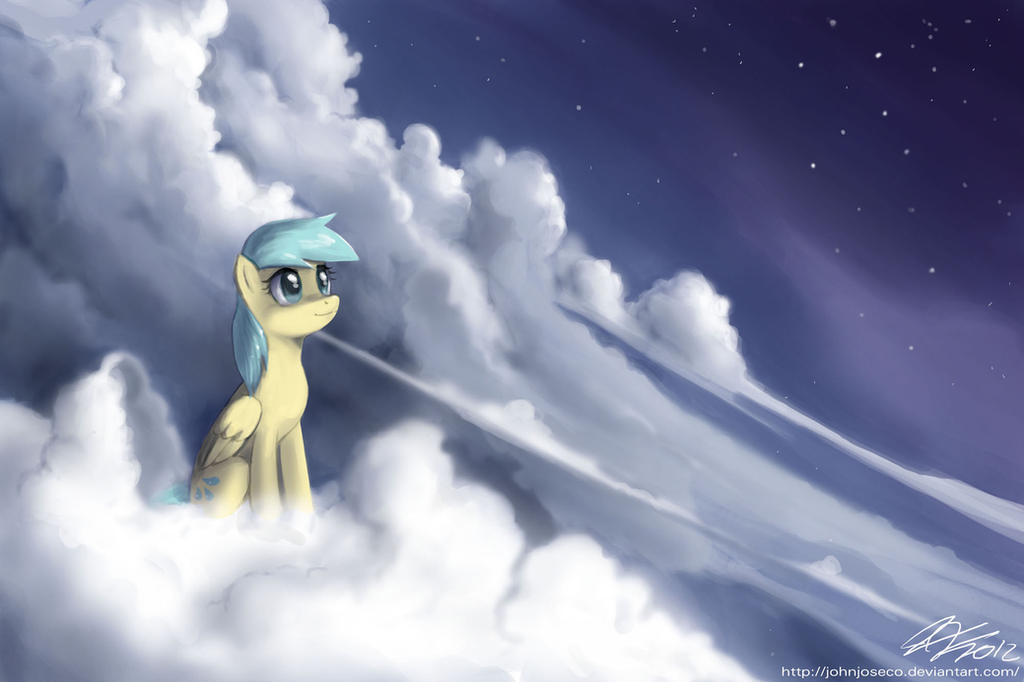 Raindrops above the Clouds by johnjoseco