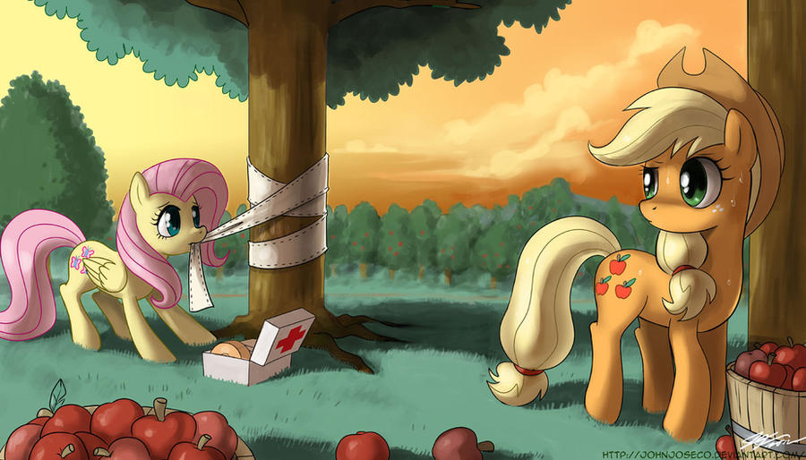 It's okay, Mister Tree by johnjoseco