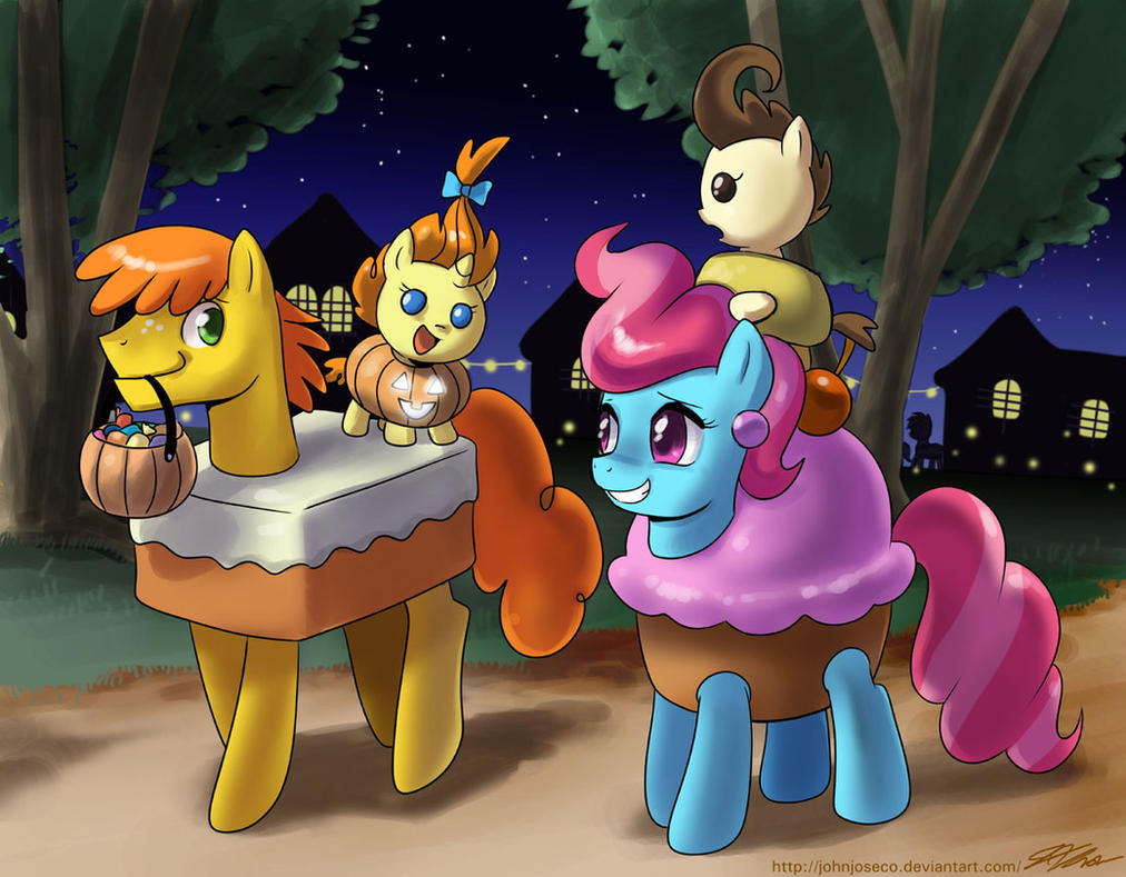 The Cakes Nightmare Night by johnjoseco