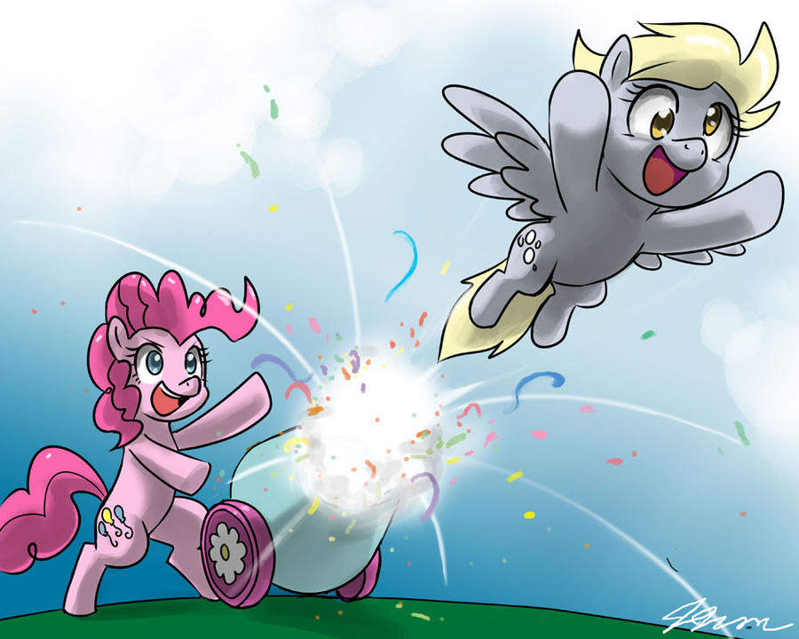 Kallisti Art Live Event Request 1: Derpy Canon by johnjoseco