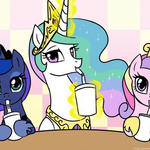 Our Milkshakes Bring All the Ponies to the Yard. by johnjoseco