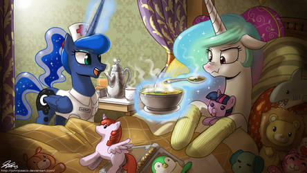 Nurse Luna to the Rescue by johnjoseco