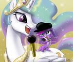 A Princess and a Diva