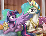 It's Called Preening, Twilight