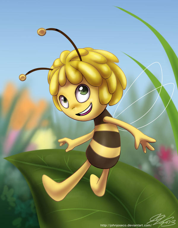 The New Maya the Bee by johnjoseco