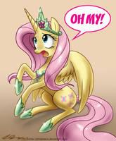 Princess Fluttershy by johnjoseco