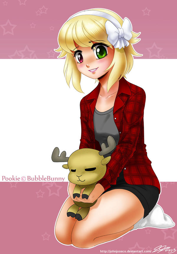 Bubblebunny's Pookie by johnjoseco