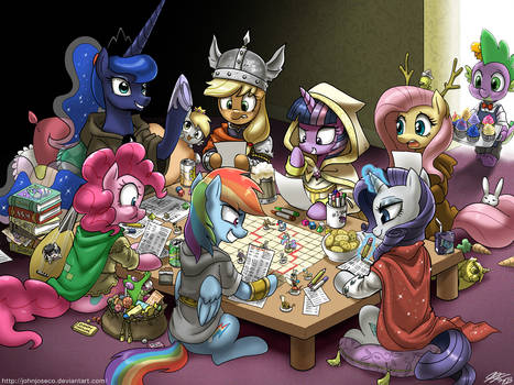 Dungeons and Ponies Plus One Dragon