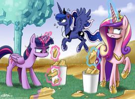 The Royal Princess Cleaning Brigade