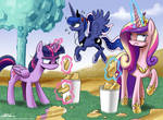 The Royal Princess Cleaning Brigade