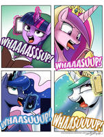 Kallisti IV Request - Whassuuuup! by johnjoseco
