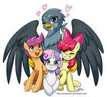 Gabby and the CMC by johnjoseco