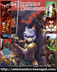 The Hunters of Salamantra by johnjoseco