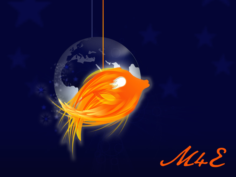 Fire fish by ronaldokuwait on deviantart for Fish on fire