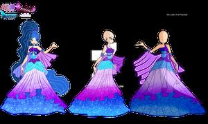 Zodiax Club - Alexis's Royal Dress (Reference)