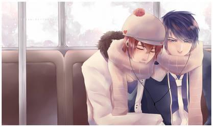 SC: Train Ride by michitan