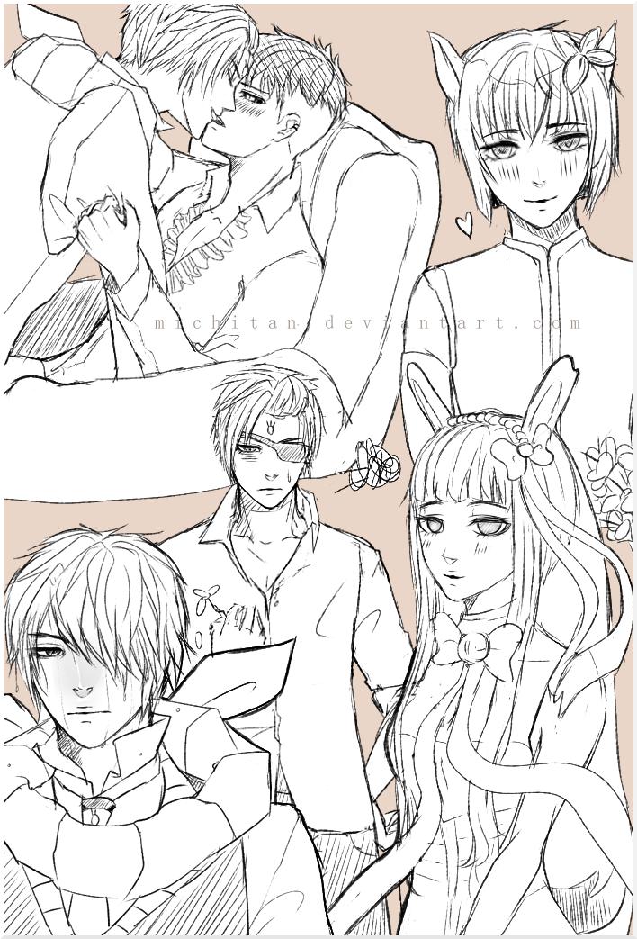 PJPV2: doodles lmao by michitan