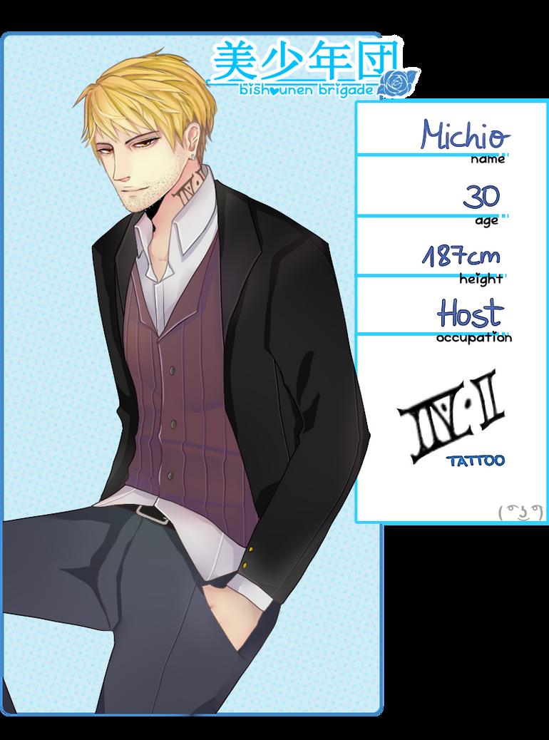 Bishie-dan: Michio by michitan