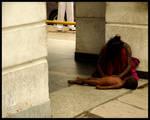 Street living - India