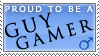 Guy Gamer Stamp by apolu