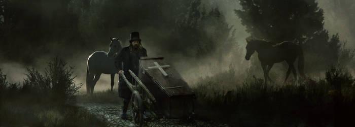 Gravedigger by arite