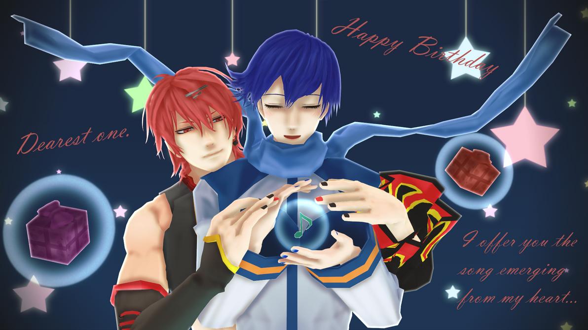 Happy Birthday Akane by BubblyAisu