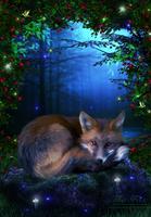 The Fox by Melanienemo