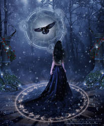 The Winter Spirit of the Northen Witch by Melanienemo