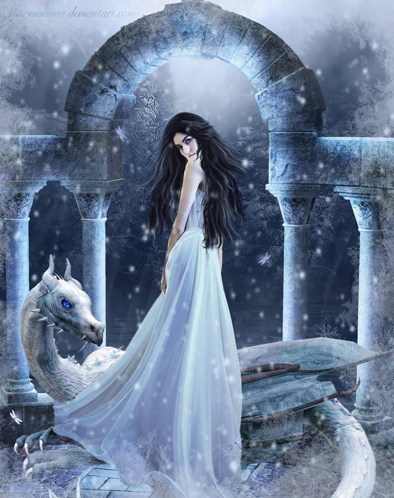 Winter Loneliness by Melanienemo