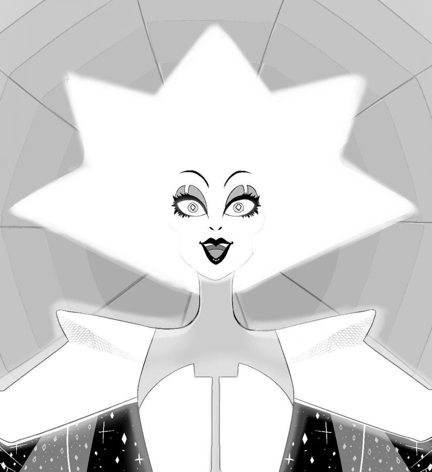 White Diamond by TheSushiSensation