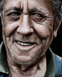 old man by Patricia-Crvl