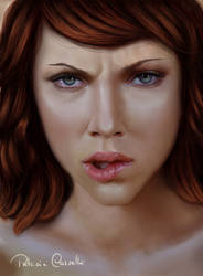 Scarlett Johansson by Patricia-Crvl