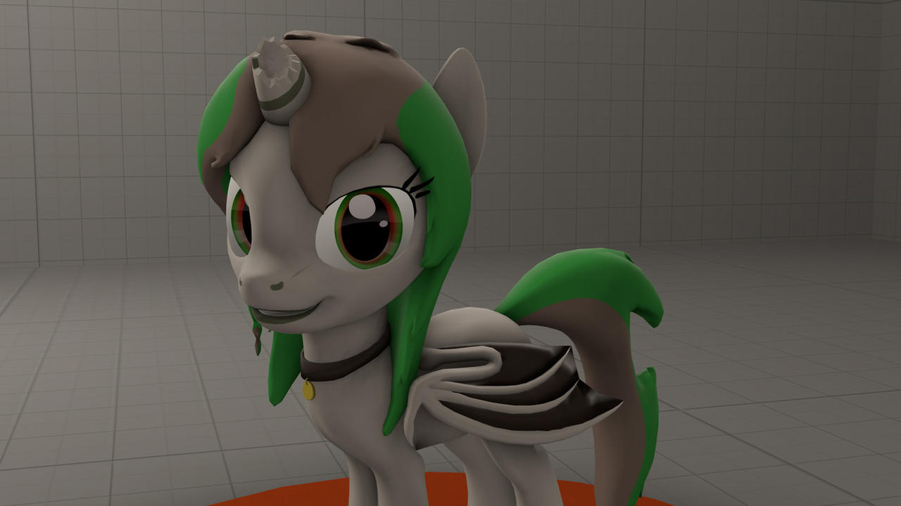 Elyse pony OC (commission) by SRicK91