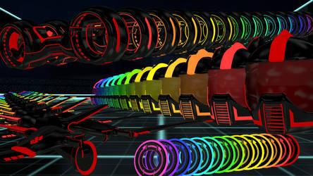 Raaaaainbows x3 by SRicK91
