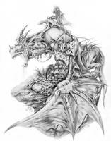 dragon by graemefazakerley
