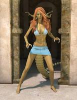 Curse of the Gorgon by GenuineGenyun