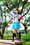 Haruhi cosplay 3
