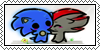 sonadow stamp - gift by HarukotheHedgehog