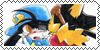 Guntz X Klonoa , Stamp by conexionmanga