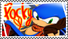 Sonic Pocky, Stamp by HarukotheHedgehog