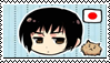 Japan, Stamp by HarukotheHedgehog