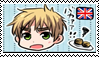 England, Stamp by conexionmanga