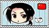 China, Stamp by conexionmanga